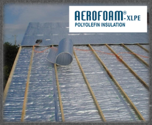 AeroReflect® Roof Insulation Foam Application