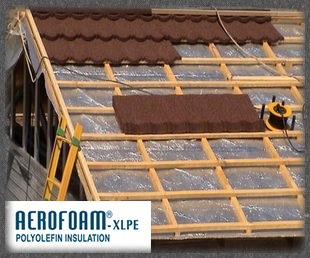 AeroReflect® Roof Insulation Foam Application - 1