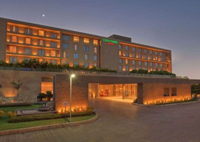 Aerofoam India - Mariott Courtyard