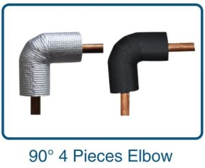 90 4 pieces elbow